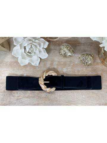 """Jolie ceinture élastique """"boucle  Gold"""""""